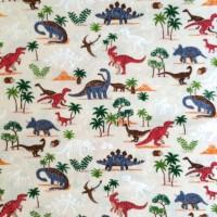 Cosmo Dinosaurierwelt offwhite, Canvas