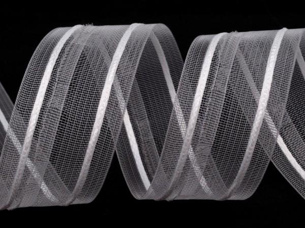 Gardinenband, 55 mm, transparent