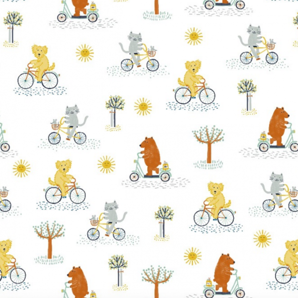 lillestoff, Bike Ride, Bio-Baumwollstoff