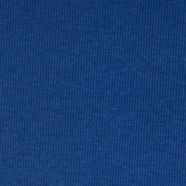 Ripp-Bündchen ozeanblau