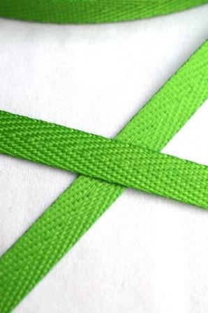 Köperband, 10 mm, hellgrün