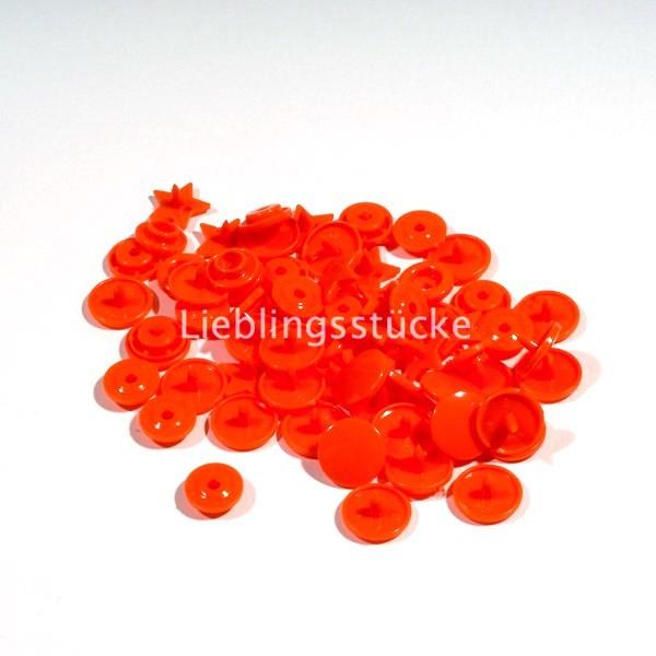 KAM Snaps STERN, 10 Stück Packung, Orange - 55