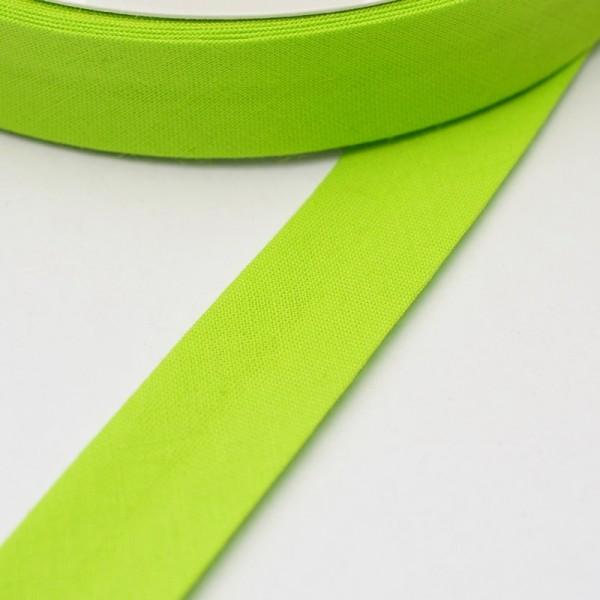 Schrägband, 20 mm, hellgrün