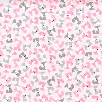 R. Kaufman, Mini Foxes rosa, Jersey