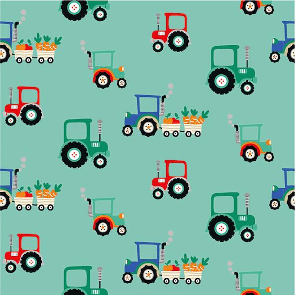 Farmhouse, Traktor mint, Jersey