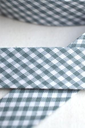 Westfalen Schrägband, karo blaugrau-weiß