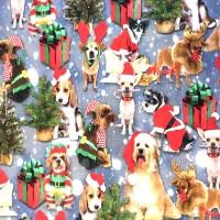 Digitaldruck Dressed Christmas, Jersey