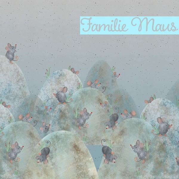 lillestoff, Familie Maus Summersweat, Paneel