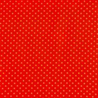 Stenzo Feincord, Pünktchen gelb auf rot