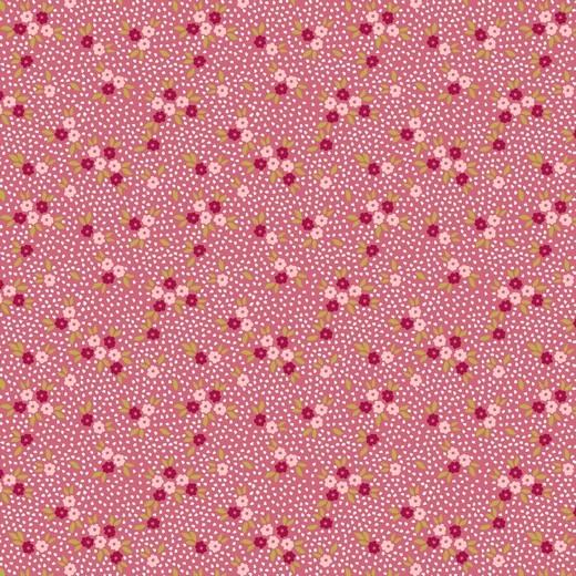 Alicia, Blümchen auf pink Jersey