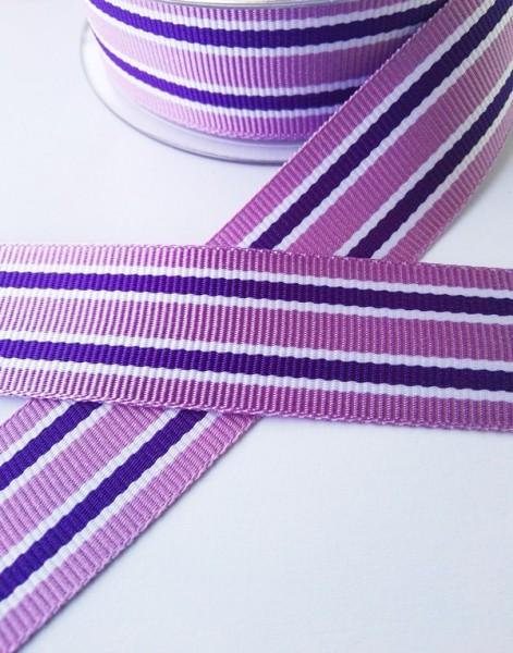 Grimsey, violett, Ripsband