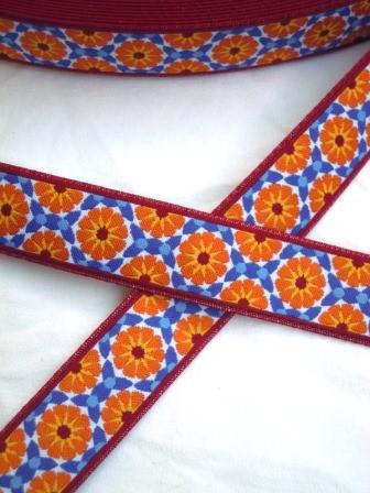Marokko, orange, Webband *SALE*