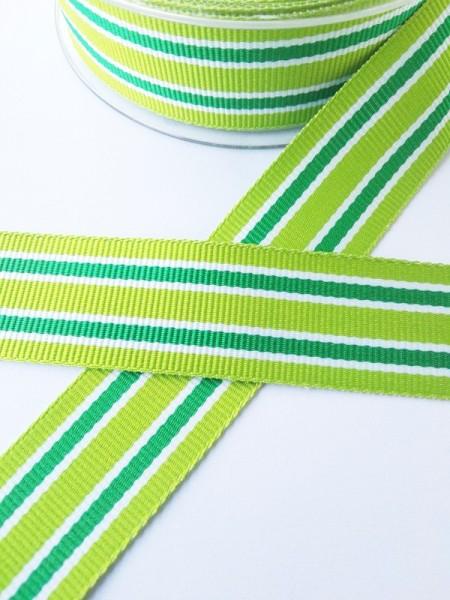 Grimsey, grün, Ripsband