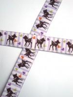 Bambi, violett, Webband