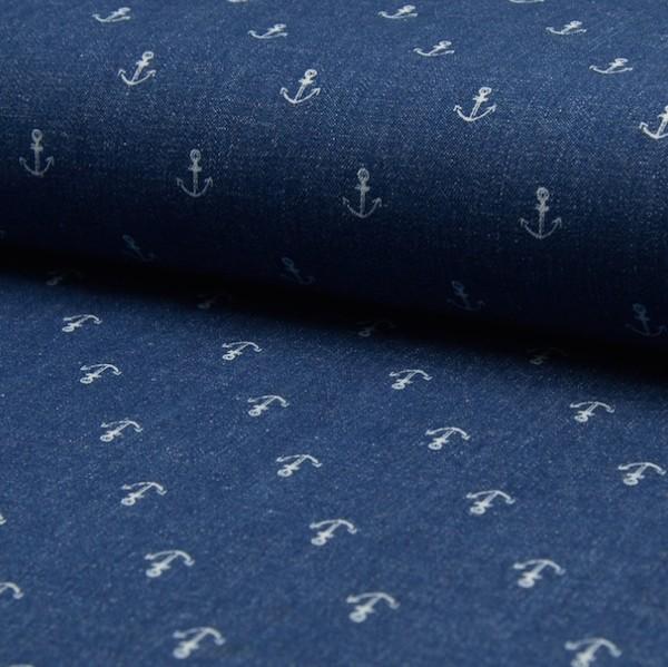 Jeans Anker, jeansblau