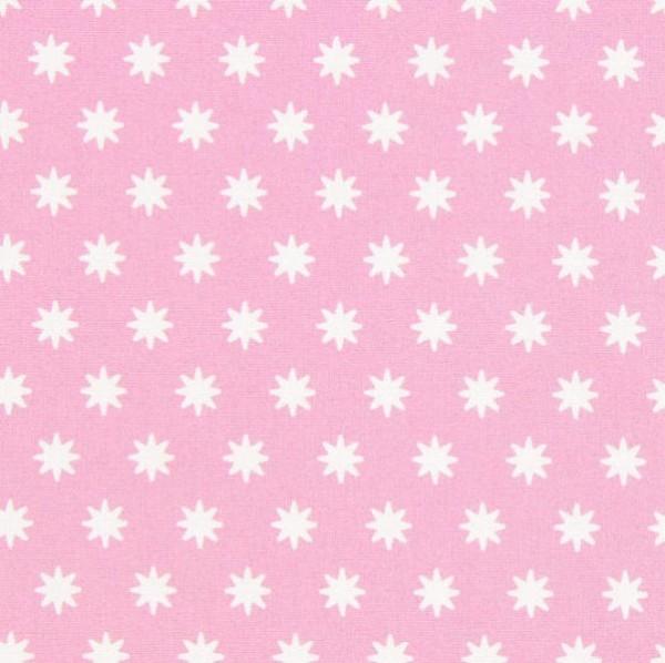 Gütermann Portofino, Sternchen rosa, Popeline