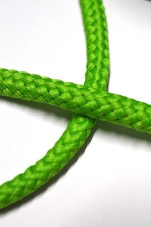 Flechtkordel, 8 mm, kräftiges hellgrün
