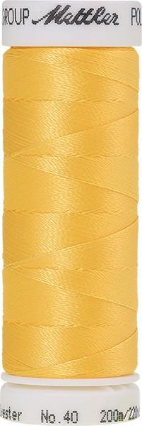 Poly Sheen Stickgarn, gelb (630)