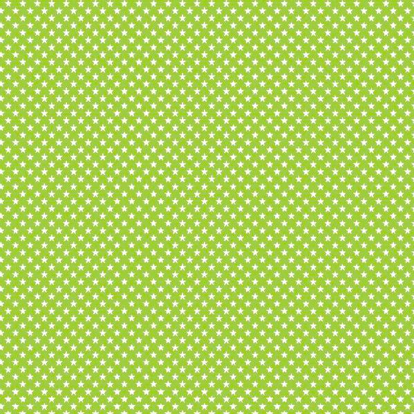 Lili Mini Stars, hellgrün, waschbar bei 60°