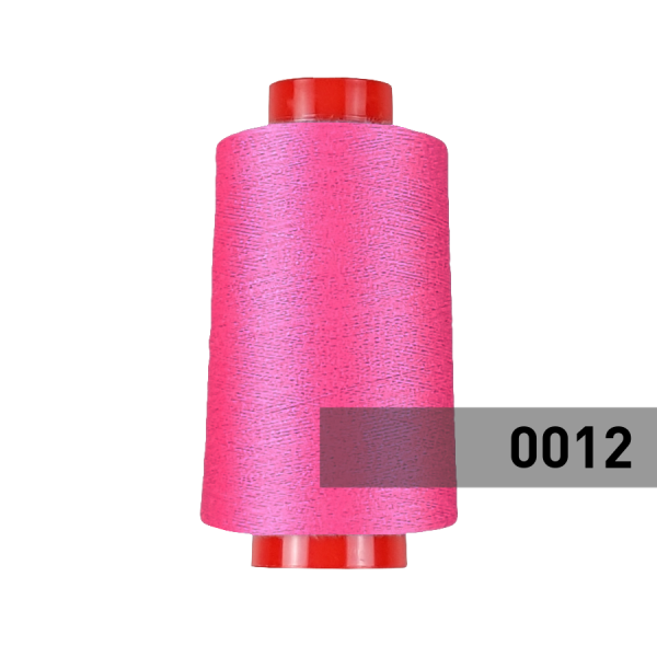 Overlock Garn, pink (12)