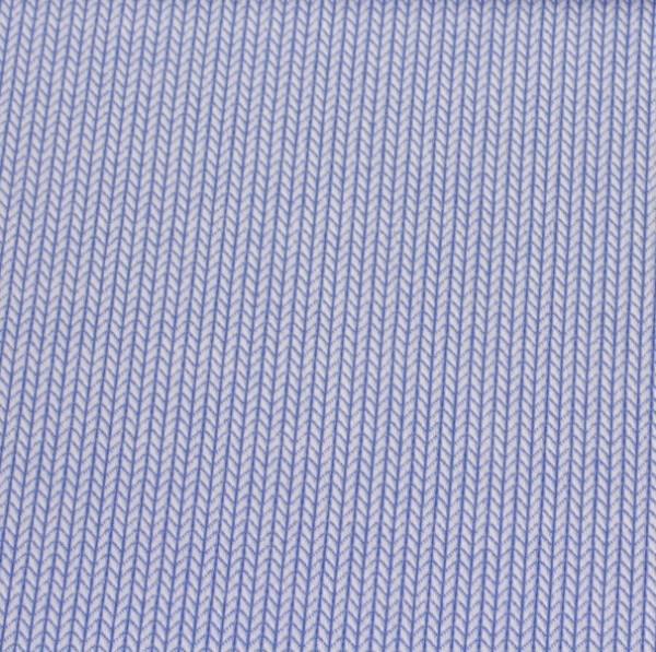 Bio-Strickstoff Knit Knit hellblau-melange