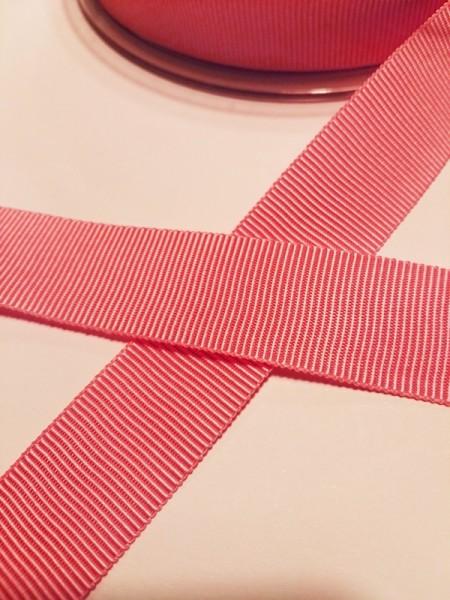 Ripsband, rosa