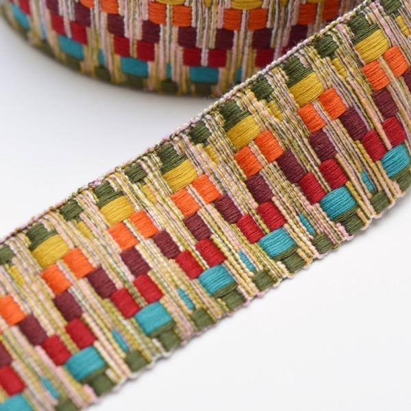 Gurtband, Aztec, regenbogen