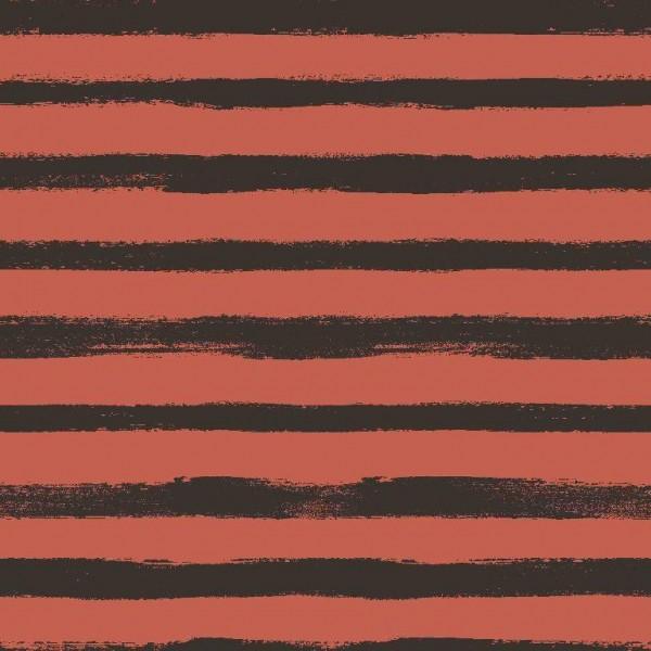 Sweat, Groovy Stripes rostorange