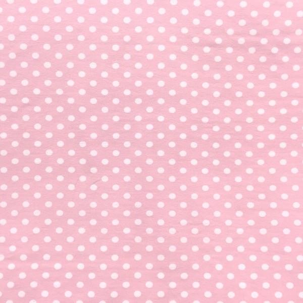 Emil, Punkte, weiß auf rosa, Jersey