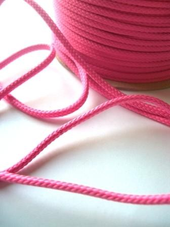 Schnur, 4 mm, pink