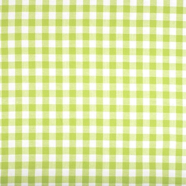 Vichykaro, groß, hellgrün-weiß kariert