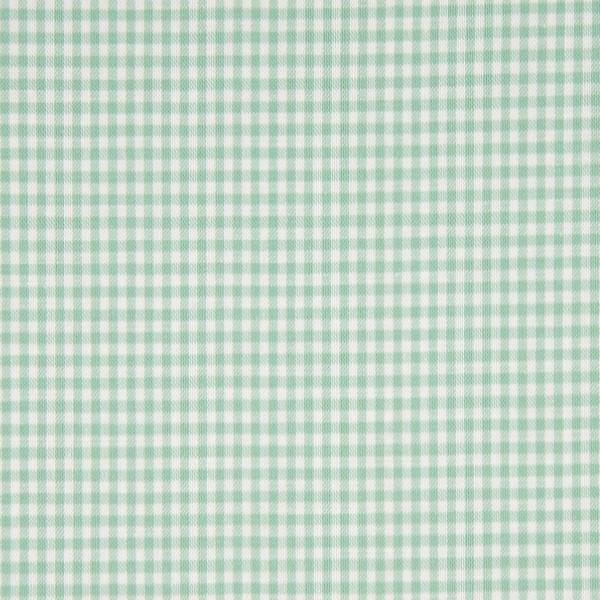 Vichykaro, klein, mint-weiß kariert, waschbar bei 60°
