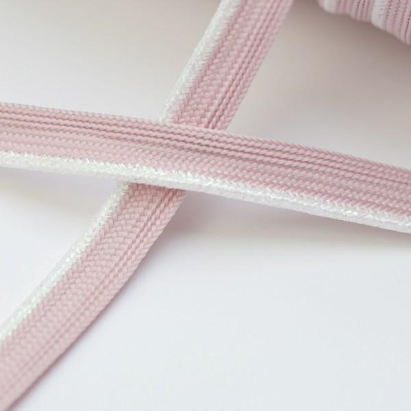 Baumwollpaspel, rosa-lurex