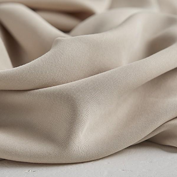 Tencel-Webstoff beige