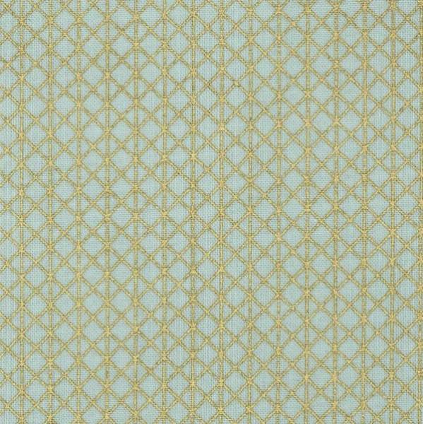 Cotton+Steel, Netorious gold auf mint, Webstoff