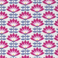 Free Spirit Atrium, Deco Bloom pink, Webstoff