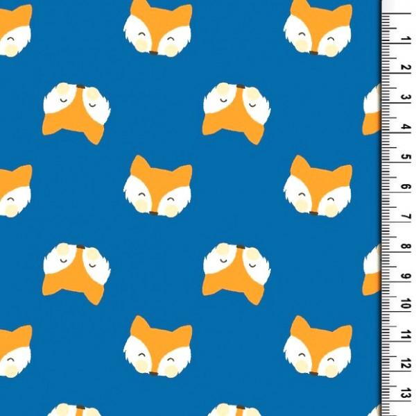 Foxy Fox, helles mittellblau, Jersey