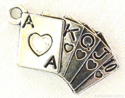 Spielkarten, Charm, nickel