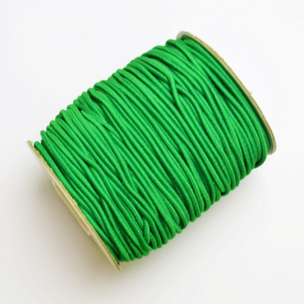 Gummischnur, 3 mm, grün