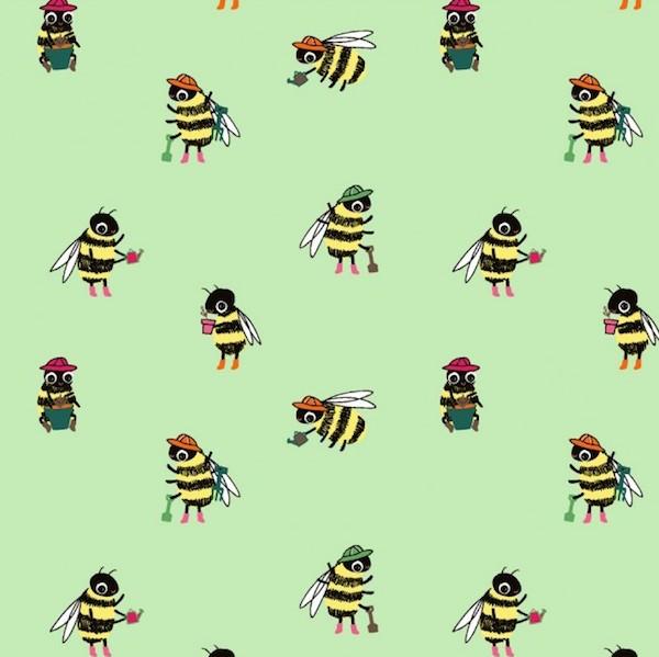 Gärtnerbienen, mint, Jersey