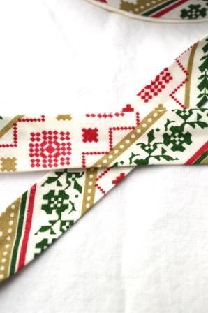 Schrägband, Weihnachten