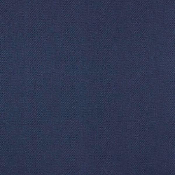 Fester Baumwollstoff/Köper, dunkelblau, waschbar bei 60°