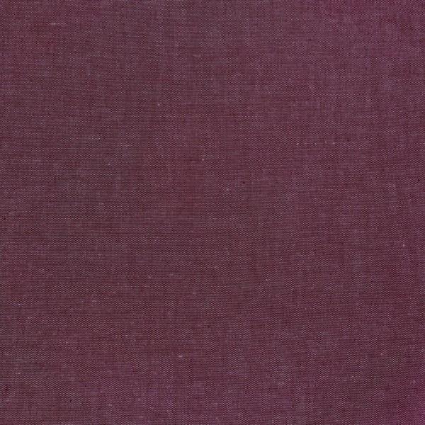 Yarn Dyed aubergine Baumwollpopeline, waschbar bei 60°