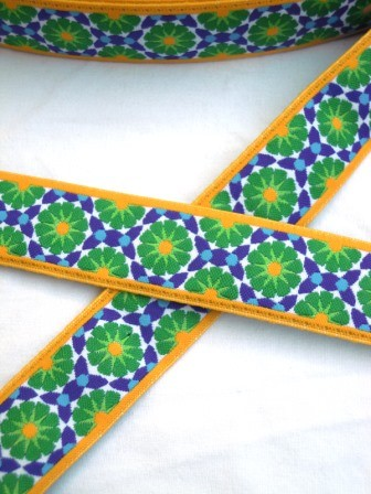 Marokko, grün, Webband
