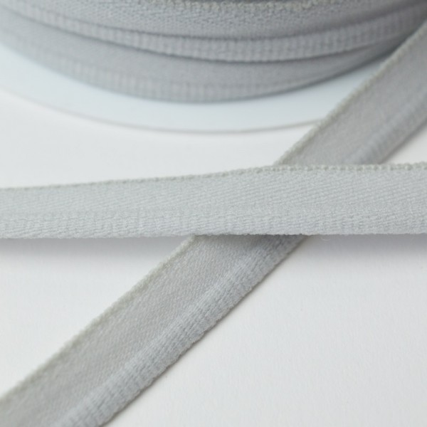 elastische Paspel, hellgrau