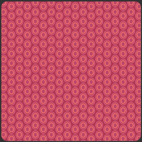 Art Gallery Oval Elements Cranberry, Webstoff