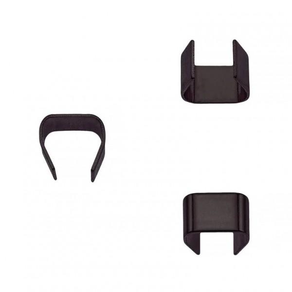 Seilklemme, schwarz, 8 mm