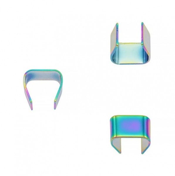 Seilklemme, regenbogen, 6 mm