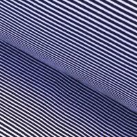 Alberto Bio-Ringelbündchen, dunkelblau/weiß