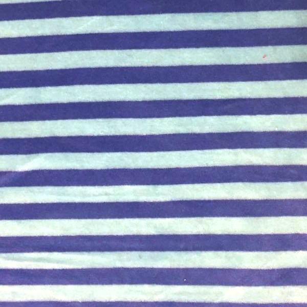 Nicky Streifen breit, hellblau/blau, *Letztes Stück ca. 140 cm*